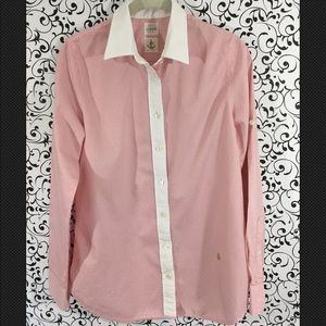 J Crew Stripe button down shirt